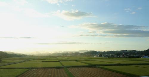○車窓_東北の夕陽.jpg