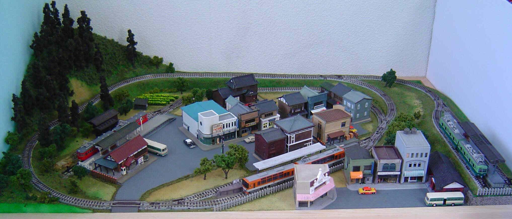 レイアウトはアートだ - 畑川 治の車・鉄道そして旅
